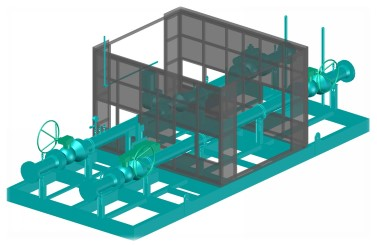 Bi Con Engineering Prefabricated Skid 3